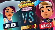 Subway Surfers Versus Jolien VS Marco Paris - Round 3 SYBO TV