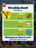 WeeklyHuntMadagascarComplete