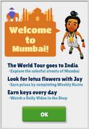 Welcome to Mumbai!