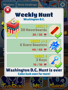 WeeklyHuntWashingtonDCComplete