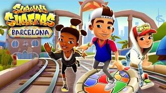 🇪🇸 Subway Surfers World Tour 2017 - Barcelona (Official Trailer)-0