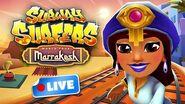 🔴 Subway Surfers World Tour 2018 - Marrakesh Gameplay Livestream