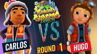 Subway Surfers Versus Carlos VS Hugo Zurich - Round 1 SYBO TV