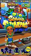 Subway Surfers Rio 2018 Homescreen