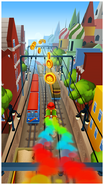 Subway Surfers Surfing Through Moscow