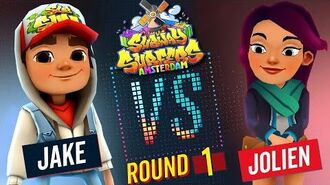 Subway Surfers Versus Jake VS Jolien Amsterdam - Round 1 SYBO TV