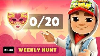 🎭 Subway Surfers Weekly Hunt - Collecting Carnival Masks in Venice (Week 2)
