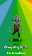 Unlocking Changeling Outfit