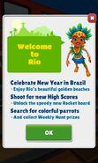 Rio 2019 Homescreen