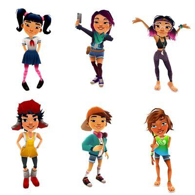 Harumi, Jolien, Jenny, Alex, Jia, and Kim