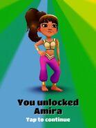 Unlocking Amira