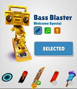 Bass blaster