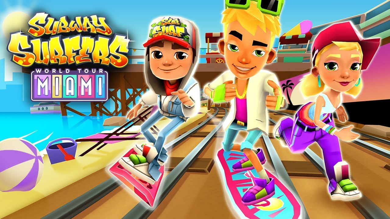 Subway surfers world tour miami 2017 subway surfers - Subway surfers wiki ...