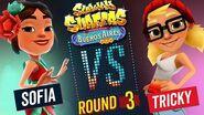 Subway Surfers Versus Sofia vs Tricky Buenos Aires - Round 3 SYBO TV