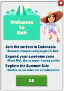 Welcome to Bali!