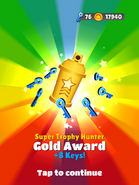 AwardGold-SuperTrophyHunter