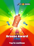 JackpotBonanzaBronzeAward