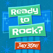 Ready to Rock July 30th
