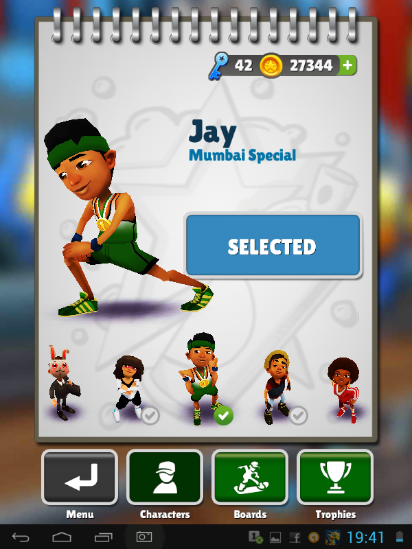 J subway surfers