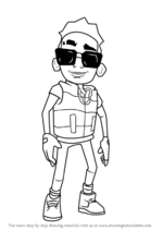 How-to-draw-Tony-from-Subway-Surfers-step-0