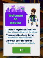 Mexico (Halloween 2017) Greeting