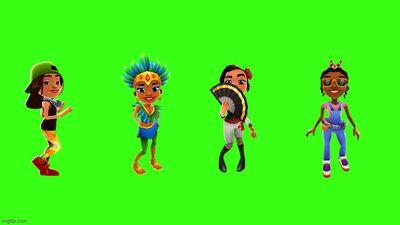 Sofia, Carmen, Rosa, and Ramona