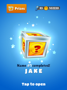 NameHunting JakeReward