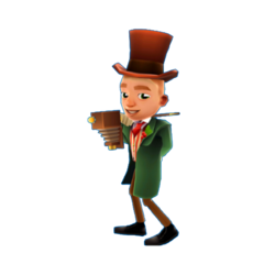 Subway Surfers Jamie Top Hat Outfit