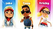 Jake, Tricky, and Tony
