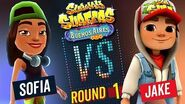 Subway Surfers Versus Sofia vs Jake Buenos Aires - Round 1 SYBO TV