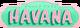 Havana 2018 Logo