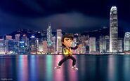 Brandon in Hong Kong