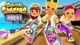 🇺🇸 Subway Surfers World Tour 2017 - Miami (Official Trailer)