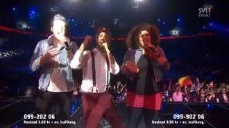 Behrang Miri - Jalla Dansa Sawa (Live Melodifestivalen Semi 2013)