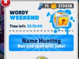 Wordy Weekend
