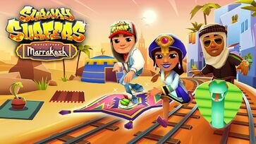 Fundo Subway Surfers Marrakesh 2018