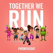 Subway Surfers Women's Day