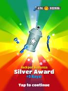 JackpotBonanzaSilverAward