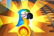 Parrot during run