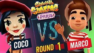 Subway Surfers Versus Coco VS Marco Paris - Round 1 SYBO TV