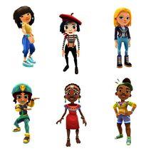 Mina, Coco, Freya, Salma, Zuri, and Aina