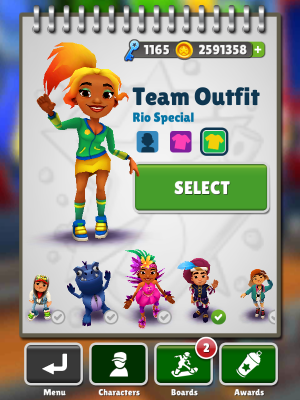 TeamOutfit