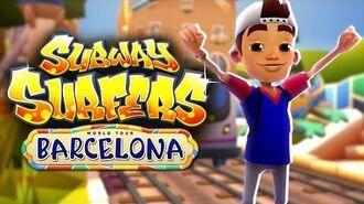 Subway Surfers World Tour Barcelona Trailer