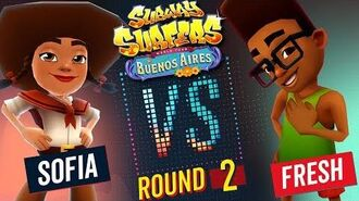 Subway Surfers Versus Sofia vs Fresh Buenos Aires - Round 2 SYBO TV