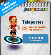 TeleporterSelected