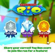 Subway Surfers Rio Top Run Contest