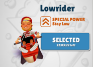 LowriderSelected