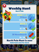 WeeklyHuntNorthPoleComplete