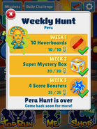 WeeklyHuntPeruComplete
