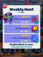 WeeklyHuntArabiaComplete